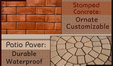 sted concrete vs paver patio which is the better option