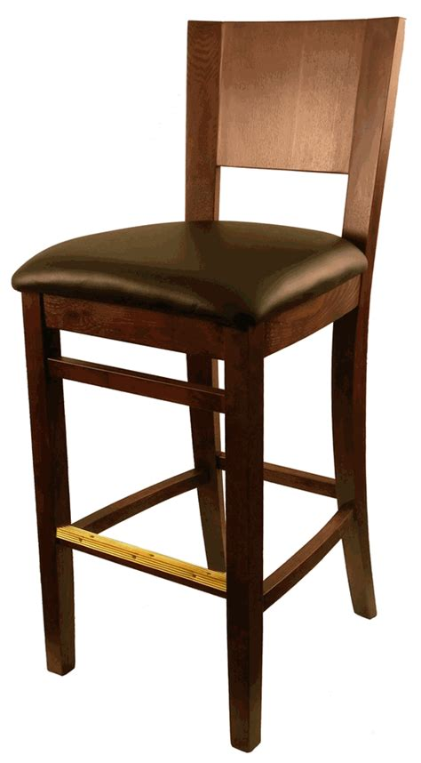 commercial wooden bar stools h d european beech commercial bar stool with solid wood