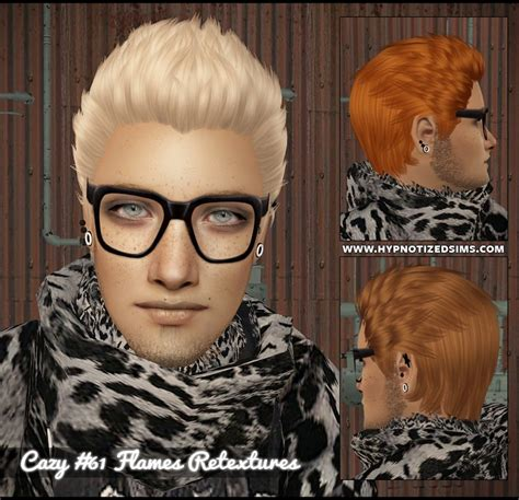 download hair male the sims 2 hypnotized sims cazy mh 61 flames retextures nouk