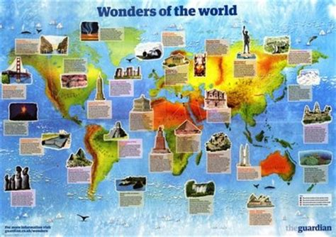 7 wonders of africa map 231 best images about country unit study on