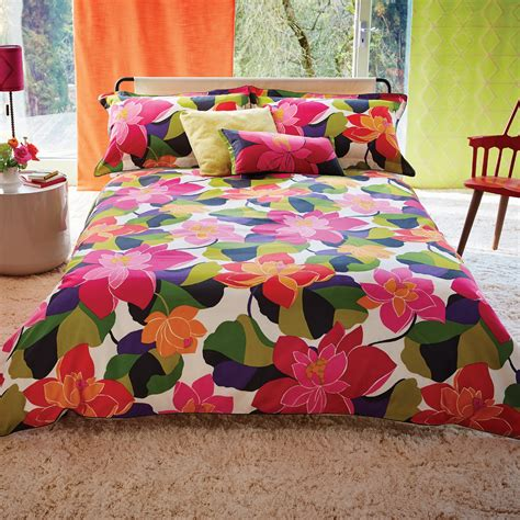 funky bedding multi coloured funky floral bedding scion bed linen