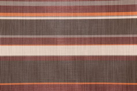 Vinyl Mesh Fabric For Sling Chairs by Berry Brown Multi Stripe Woven Vinyl Mesh Sling Chair