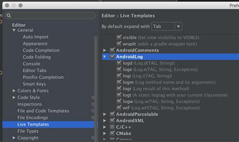templates for android studio custom postfix completion in android studio stack overflow