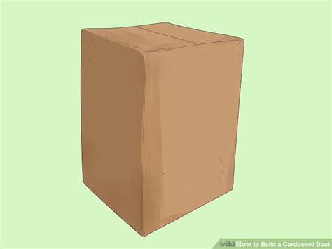 how to build a boat from cardboard 3 ways to build a cardboard boat wikihow
