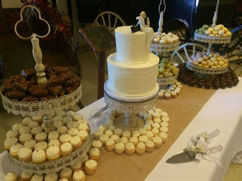 dessert table decadence cakes confections