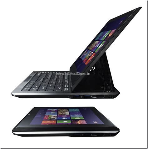 Tablet Sony Vaio Duo 11 sony launches vaio duo 11 hybrid ultrabook tablet in