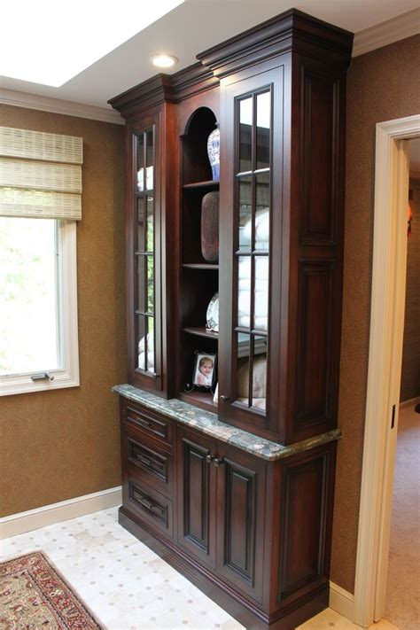 Master Bathroom Linen Cabinets 1000 Ideas About Custom Cabinetry On Cabinet