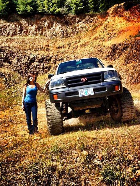 toyota tacoma jacked best 130 jacked up trucks and 4x4 s images on pinterest