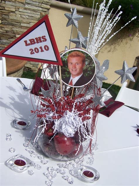 centerpieces for graduation from college 25 best ideas about graduation table centerpieces on grad centerpieces