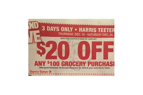 harris teeter coupon policy b2g3