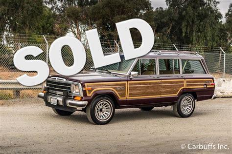 1987 jeep wagoneer 1987 jeep grand wagoneer concord ca carbuffs