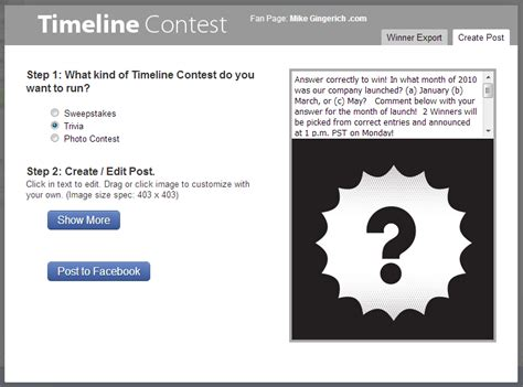 facebook photo contest rules template image collections