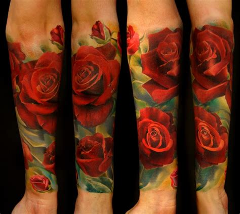 d rose tattoos 36 picturesque 3d flower designs amazing ideas