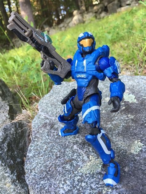 Halo Spartan 6 Figure mattel halo air assault spartan 6 quot figure review photos