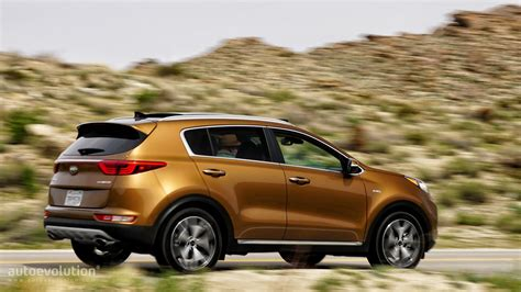 Kia Sportage Brown 2017 Kia Sportage Review Autoevolution
