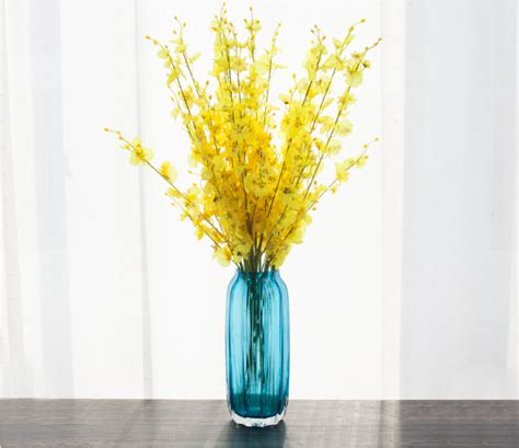 Colored Vases Wholesale by China Glass Vases On Sale Custom Made Blown Glass