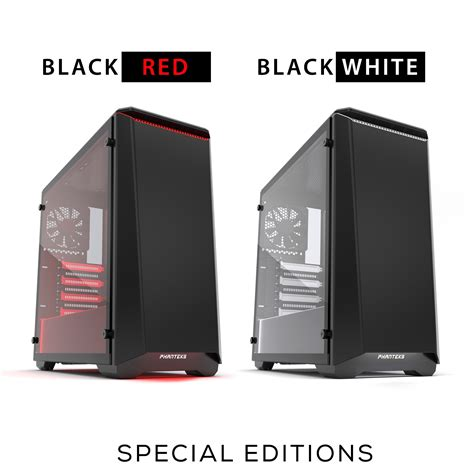phanteks announce their new p400 and p400s tempered glass windowed p400 p400s tempered glass editions the mod zoo