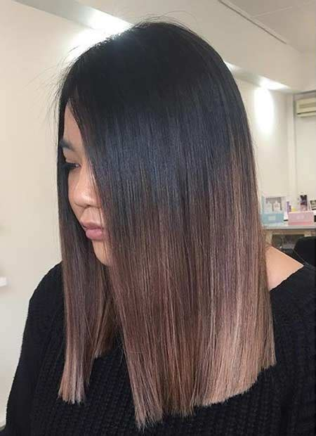 medium length sombre 51 cool and trendy medium length hairstyles stayglam