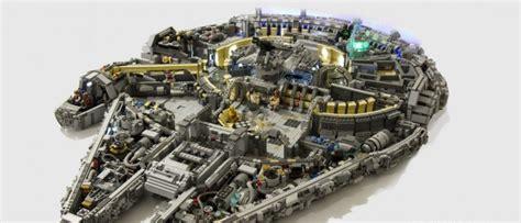 cool wars stuff cool stuff custom 10 000 lego millennium falcon