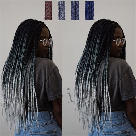 extra long marley braiding hair aliexpress com buy long marley braid hair three tone