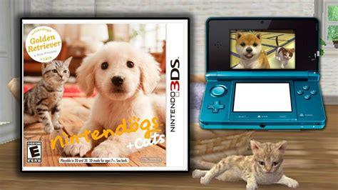 nintendogs golden retriever 3ds 3ds demos nintendogs cats walkthrough gameplay quot golden retriever quot