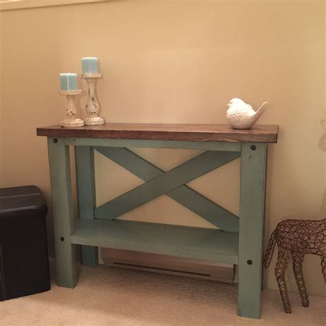white entry table mini console table do it yourself home projects from ana
