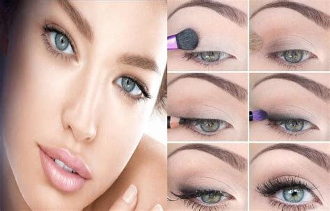 natural makeup tutorial brown eyes natural eye makeup for brown and blue eyes latest