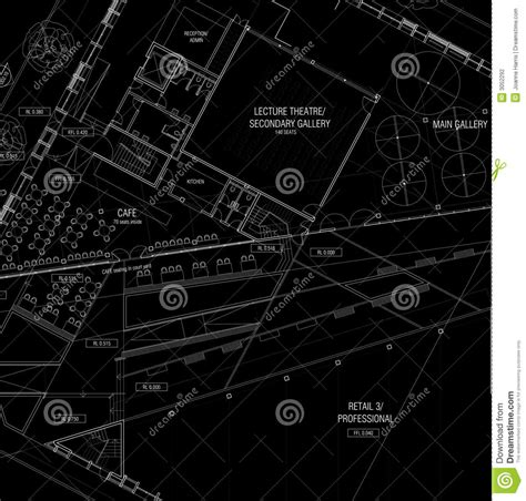 Cad Floor Plans Free Download architecture plans stock photography image 3052292