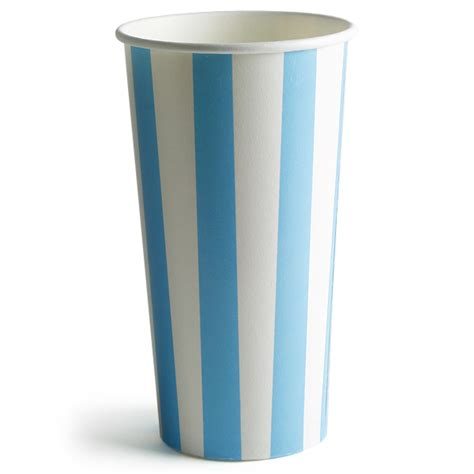 paper cup 16oz striped milkshake paper cups 16oz 450ml disposable