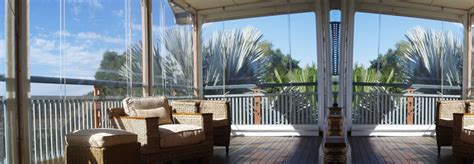 clear pvc awnings cafe blinds outdoor blinds brisbane