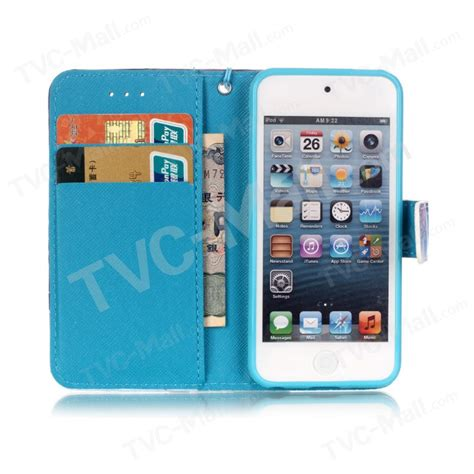 Brenthaven Ipod For Stand Up Viewing by Flip Stand Leather Wallet Phone For Ipod Touch 6 5