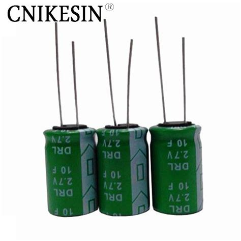 capacitor voltage esr cnikesin 3pcs fala capacitor 2 7v10f capacitor high current low esr fast delivery 10f 2 7v