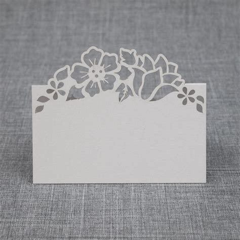 cricut place card template mattox design floral place cards silhouette