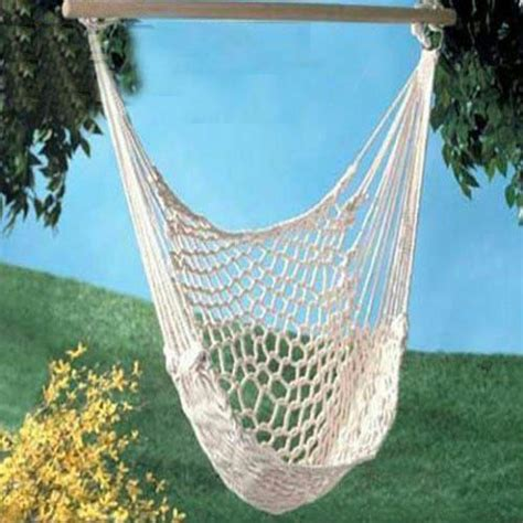 hammock rope swing chair new hanging cotton rope hammock chair patio porch swing
