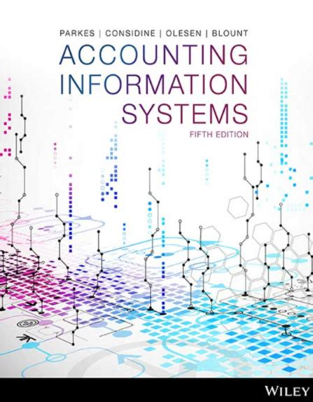 Solution Manual For Accounting Information Systems 5th