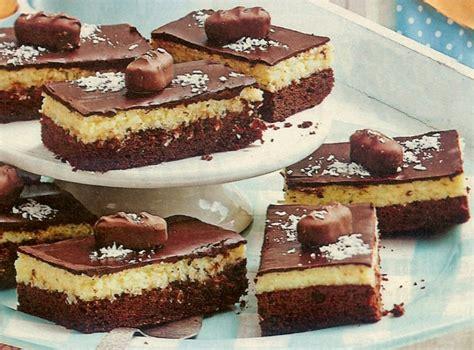 Kokos Schoko Kuchen Backraum24 Backrezepte Und Mehr