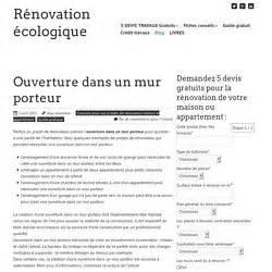Devis Ouverture Mur Porteur 3725 by Renovation Appartement Pearltrees
