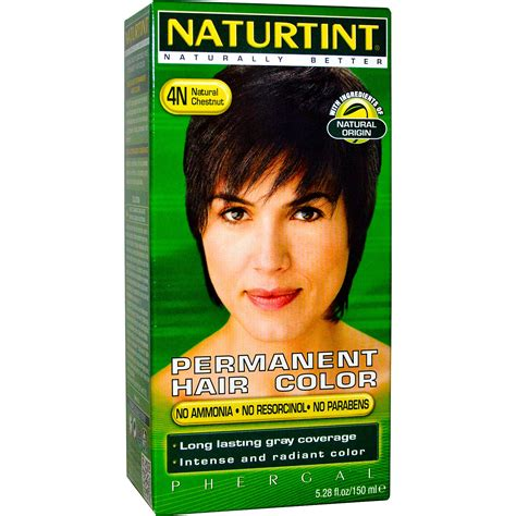 naturtint permanent hair color 4n chestnut 5 28