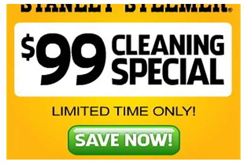 stanley steemer coupons november 2018