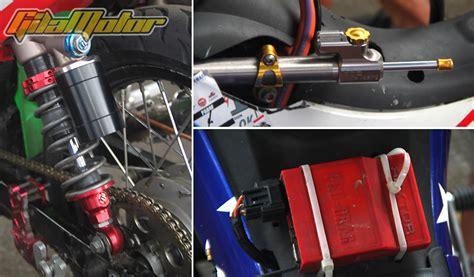 Gigi Tuner Bengkok Nsk Bagian Tengah modifikasi yamaha jupiter z cukup mainkan komponen standar gilamotor