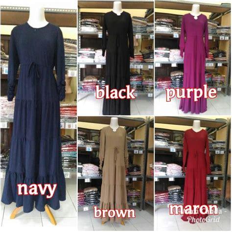 Loli Pop Dress Khimar Mouslim Gamis gamis modern maxi canda baju muslim grosir