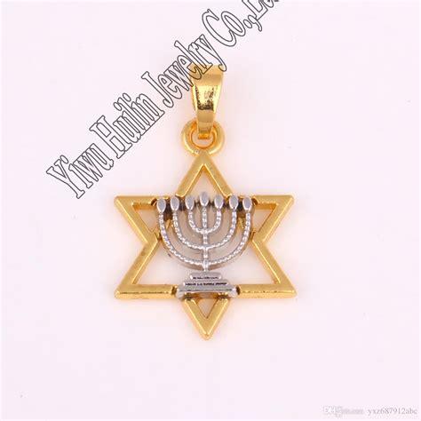 best 20 31 mm gold color faith menorah l on of david charm pendant religious