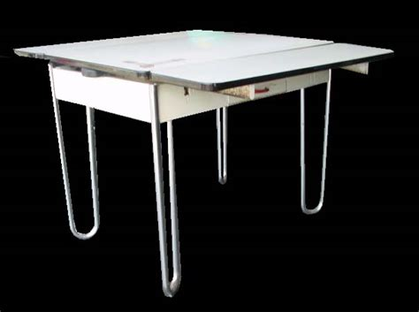 retro metal kitchen table midcentury retro style modern architectural vintage
