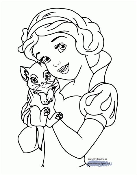 coloring 2 renew books coloring page of snow white disney snow white printable