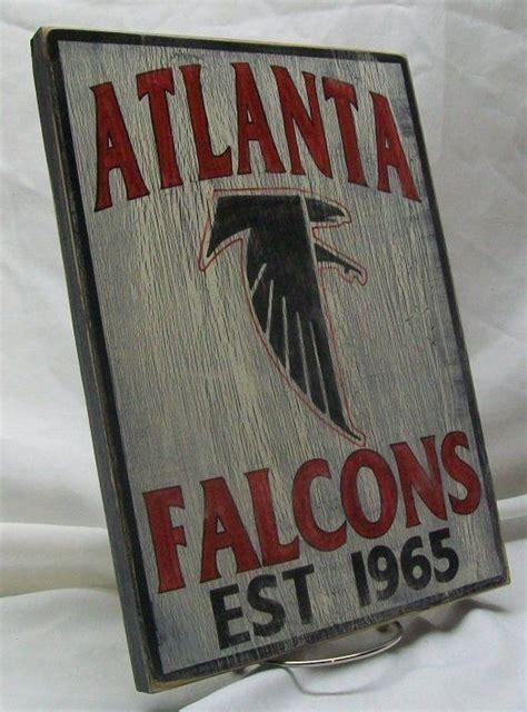 atlanta nfl signs etsy atlanta falcons wall sign distressed by