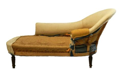 how to reupholster a chaise lounge c19 french chaise longue sofa to reupholster recover in