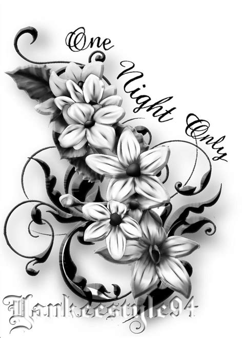 jasmine tattoo designs by yankeestyle94 on deviantart