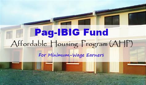 requirements for pag ibig house improvement loan how to buy your own house with pag ibig fund affordable housing program para sa pinoy