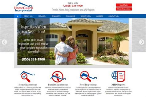 emejing home inspection web design pictures interior
