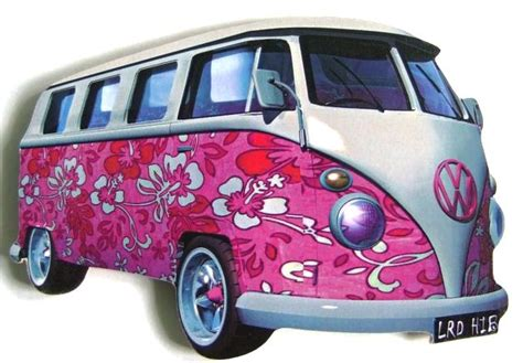 pink volkswagen van inside image gallery hippie vw bus cer